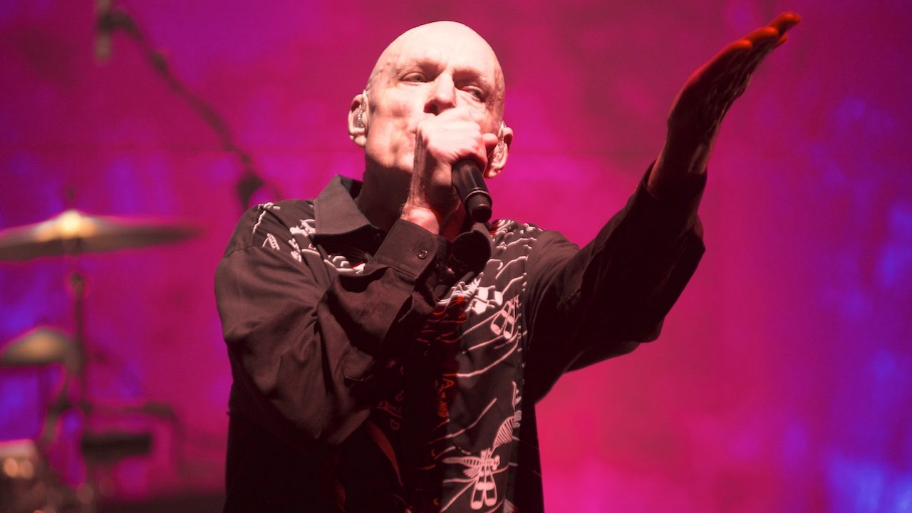 Midnight Oil, in May at the Wiltern (Photo by Todd Nakamine)