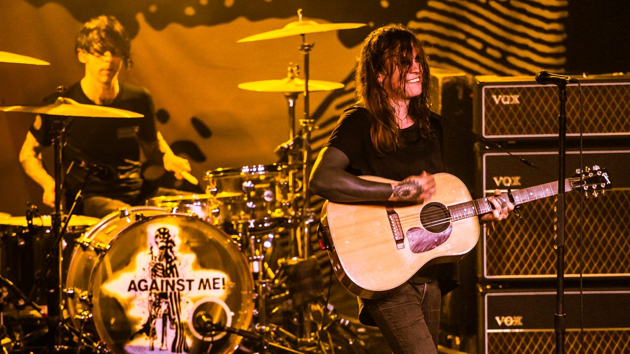 Against Me! at the Glass House (Photo by Samantha Saturday)
