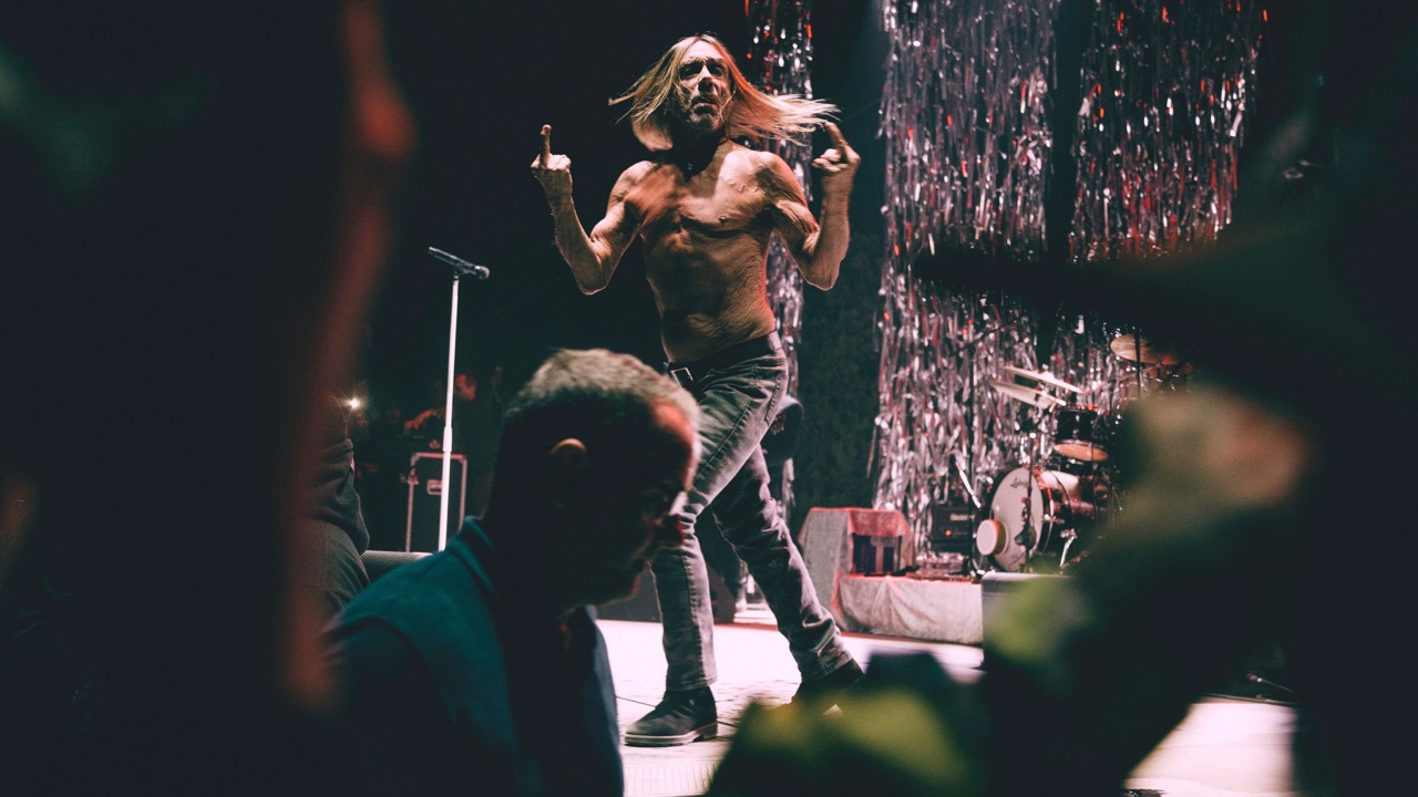 Iggy Pop at Desert Daze (Photo by Lexi Bonin)