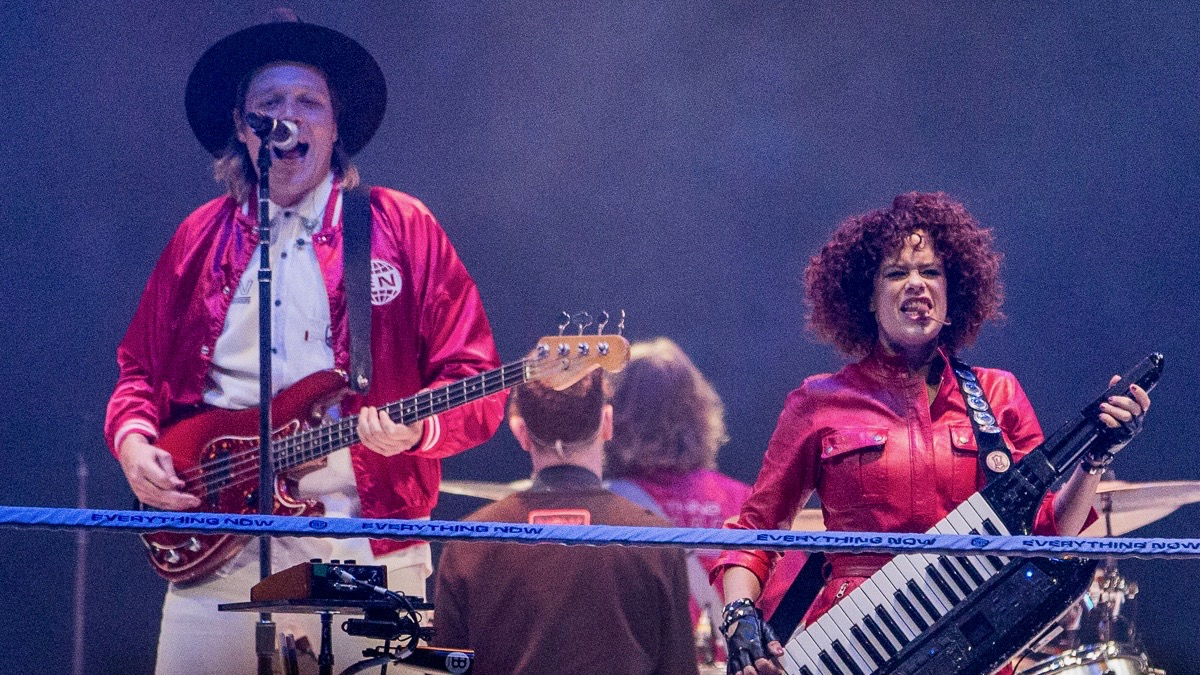Arcade Fire at the Forum (Photo by Jessica Hanley)