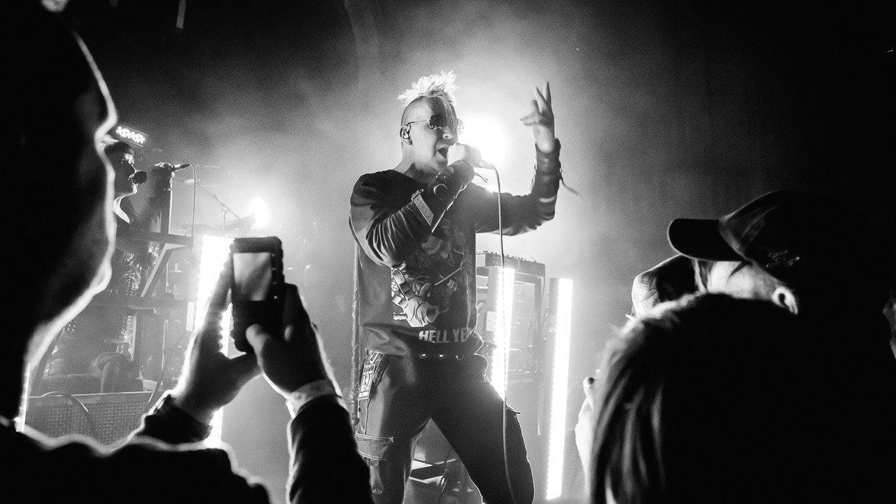 KMFDM at Cloak & Dagger (Photo by Andie Mills)