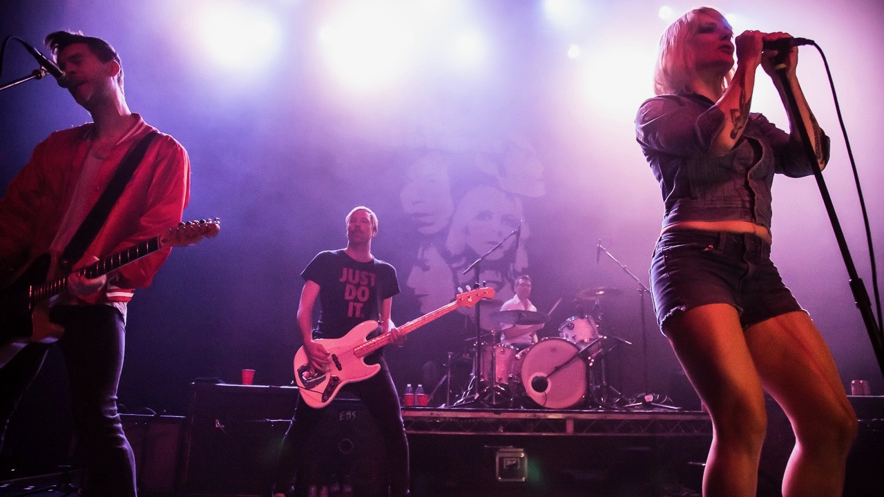 The Sounds at the Fonda Theatre (Photo by Andie Mills)