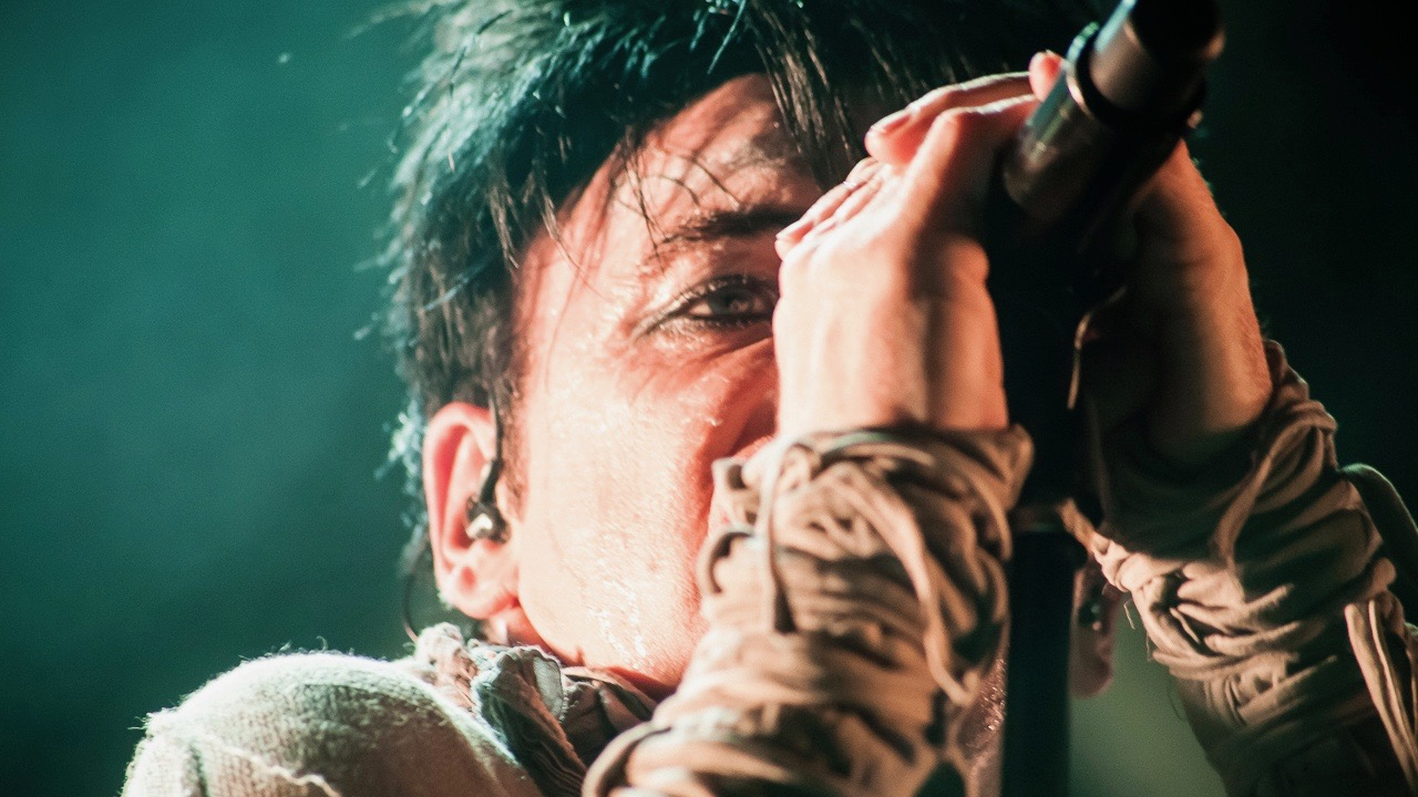 Gary Numan at the Teragram Ballroom (Photo by Andie Mills)