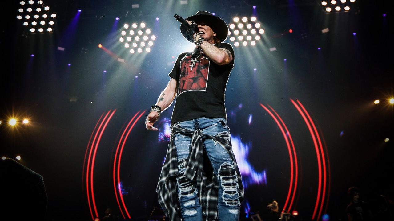 Guns N' Roses at Staples Center (Photo by Katarina Benzova)
