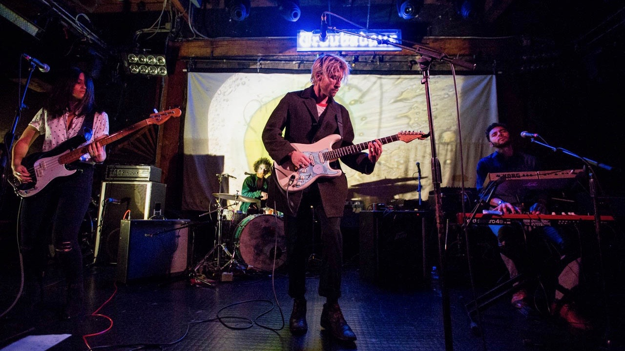 SWIMM at the Troubadour in December 2016 (Photo by Jessica Hanley)