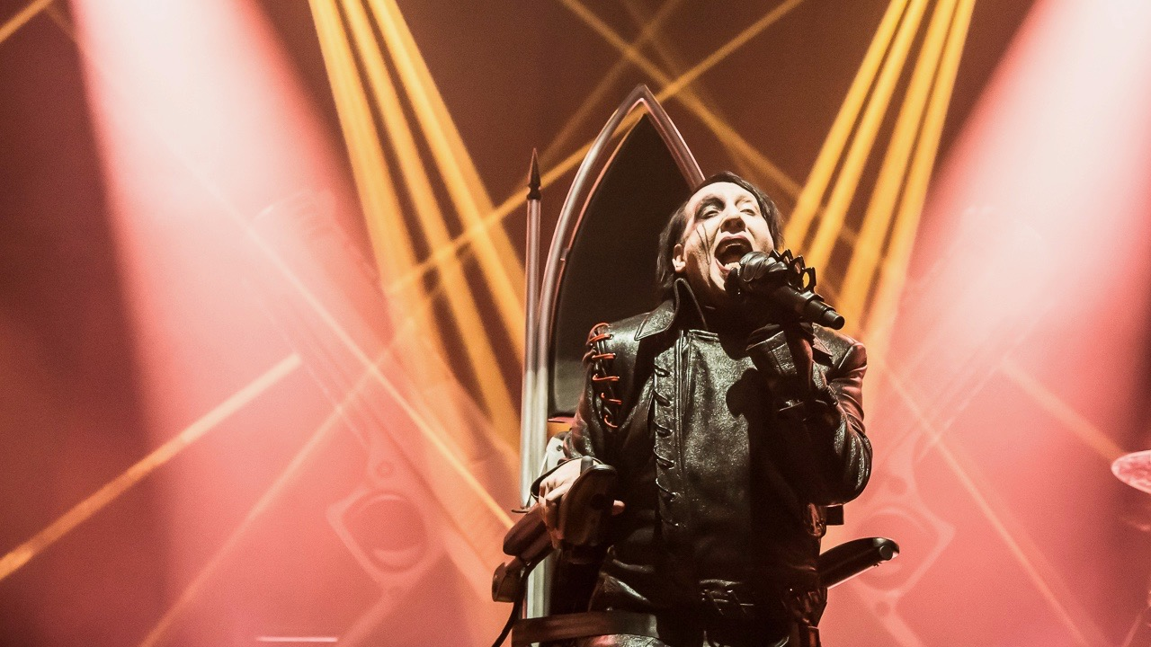 Marilyn Manson at the Palladium (Photo by Andie Mills)