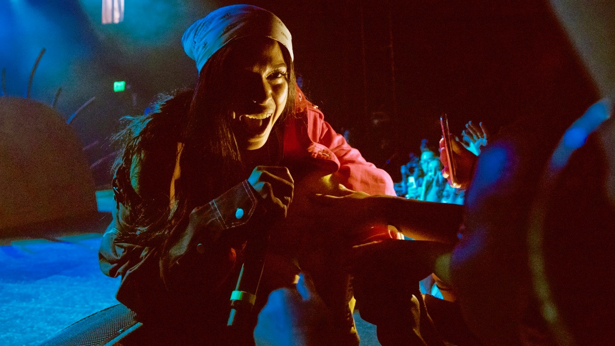 Princess Nokia at the El Rey Theatre (Photo by Jazz Shademan)