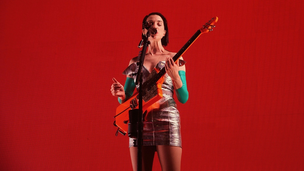 St. Vincent in January at the Palladium (Photo by David Benjamin)